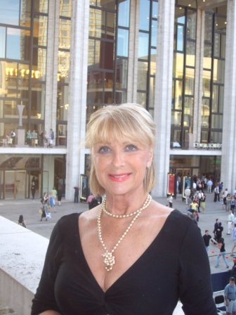 Christine at Lincoln center in New York City